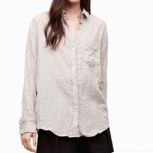 ffda5757402ec7 NWT Community White Mix Veritas Buttondown Shirt M